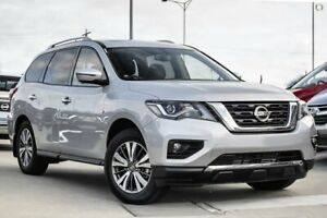 2019 Nissan Pathfinder R52 Series III MY19 ST-L X-tronic 4WD Silver 1 Speed Constant Variable Wagon Hoppers Crossing Wyndham Area Preview
