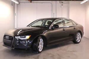 2014 AUDI A6 240-hp, NAVIGATION, SPORT PACKAGE, LEATHER, SUNROO