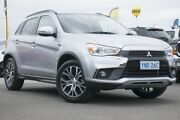 2017 Mitsubishi ASX XC MY17 LS 2WD Silver 6 Speed Constant Variable Wagon Pearce Woden Valley Preview