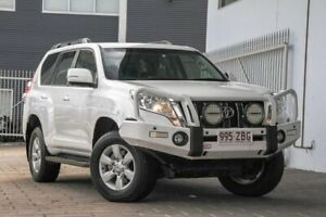 2016 Toyota Landcruiser Prado GDJ150R GXL White 6 Speed Sports Automatic Wagon Springwood Logan Area Preview
