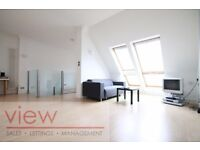 Huge duplex penthouse over 1227sqft with two bathrooms & off street parking, secs to Borough tube