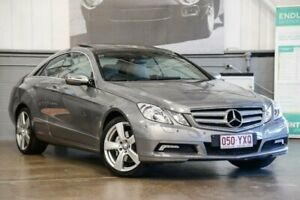 2009 Mercedes-Benz E350 C207 Avantgarde 7G-Tronic Silver 7 Speed Sports Automatic Coupe
