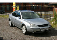 Ford Mondeo Ghia X 2.0 (Cheap car with top spec, automatic gearbox and long MOT)
