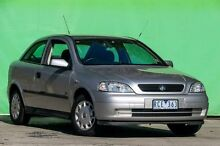 2001 Holden Astra TS City Silver 5 Speed Manual Hatchback Ringwood East Maroondah Area Preview