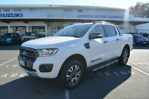 2019 Ford Ranger PX MkIII 2019.75MY Wildtrak Pick-up Double Cab White 10 Speed Sports Automatic Launceston Launceston Area Preview
