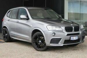 2011 BMW X3 F25 xDrive20d Steptronic Space Grey 8 Speed Automatic Wagon Wangara Wanneroo Area Preview
