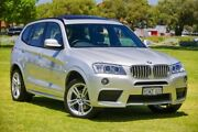2014 BMW X3 F25 LCI MY0414 xDrive30d Steptronic Silver 8 Speed Sports Automatic Wagon Victoria Park Victoria Park Area Preview