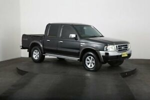 2004 Ford Courier PG XLT (4x4) Black 5 Speed Manual Crew Cab Pickup