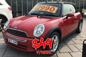 2008 Mini Cabrio R52 MY05 Cooper Red 5 Speed Manual Convertible