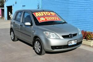 2005 Mazda 2 DY Neo Silver 4 Speed Automatic Hatchback Enfield Port Adelaide Area Preview