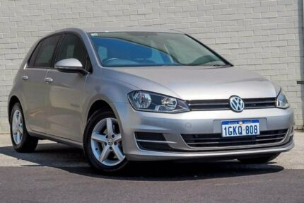 2013 Volkswagen Golf AU 90 TSI Silver 7 Speed Auto Direct Shift Hatchback