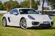 2015 Porsche Cayman 981 MY15 PDK White 7 Speed Sports Automatic Dual Clutch Coupe Victoria Park Victoria Park Area Preview