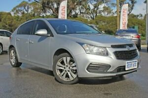 2015 Holden Cruze JH Series II MY15 Equipe Silver 6 Speed Sports Automatic Hatchback Rockingham Rockingham Area Preview