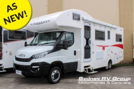 U3874 Winnebago Kirra With Drop Down Bed & Your Home Comforts Penrith Penrith Area Preview