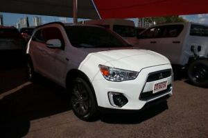2016 Mitsubishi ASX XB MY15.5 LS 2WD White 6 Speed Continuous Variable Wagon