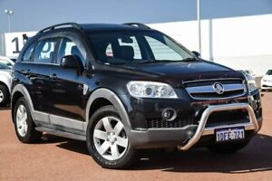 2009 Holden Captiva CG MY09 CX AWD Black 5 Speed Sports Automatic Wagon Balcatta Stirling Area Preview