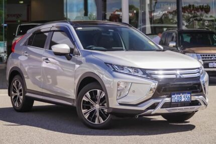 2018 Mitsubishi Eclipse Cross YA MY18 Exceed (2WD) Sterling Silver Continuous Variable Wagon Myaree Melville Area Preview