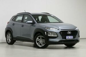2019 Hyundai Kona OS.2 MY19 Active (FWD) Silver 6 Speed Automatic Wagon Bentley Canning Area Preview
