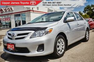 2013 Toyota Corolla CE - Detailed service history.