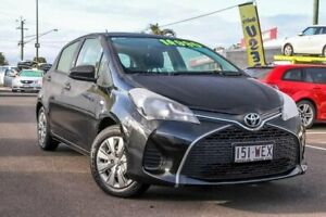 2015 Toyota Yaris NCP130R Ascent Black 4 Speed Automatic Hatchback Gympie Gympie Area Preview