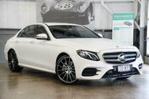2016 Mercedes-Benz E200 W213 9G-Tronic PLUS White 9 Speed Sports Automatic Sedan Albion Brisbane North East Preview