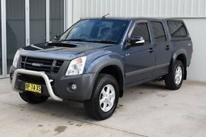 2011 Isuzu D-MAX MY11 LS-M Blue 4 Speed Automatic Utility Rutherford Maitland Area Preview