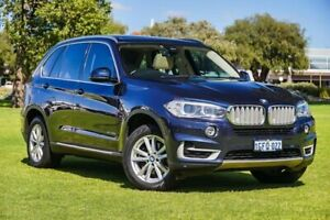 2014 BMW X5 F15 sDrive25d Imperial Blue 8 Speed Automatic Wagon Burswood Victoria Park Area Preview