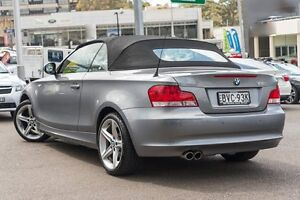 2010 BMW 125I E88 MY11 Space Grey 6 Speed Automatic Convertible Brookvale Manly Area Preview