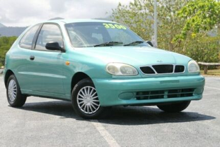 1998 Daewoo Lanos SE Green 4 Speed Automatic Hatchback