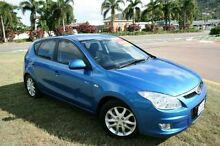 2009 Hyundai i30 FD MY09 SLX Blue 5 Speed Manual Hatchback Townsville Townsville City Preview