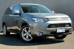 2013 Mitsubishi Outlander Grey Constant Variable Wagon Heidelberg Heights Banyule Area Preview