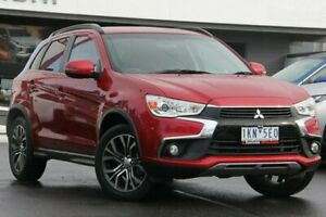2017 Mitsubishi ASX XC MY17 LS 2WD Red 6 Speed Constant Variable Wagon Nunawading Whitehorse Area Preview