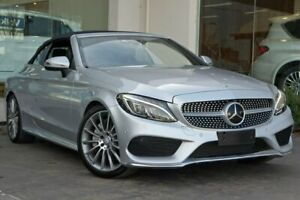 2017 Mercedes-Benz C300 A205 808MY 9G-Tronic Silver 9 Speed Sports Automatic Cabriolet Doncaster Manningham Area Preview
