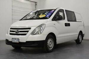 2016 Hyundai iLOAD TQ Series II (TQ3) Crew White 5 Speed Automatic Van