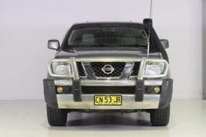 2010 Nissan Navara D40 ST-X King Cab Grey 5 Speed Automatic Utility