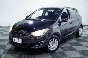 2012 Hyundai i20 PB MY12 Active Black 4 Speed Automatic Hatchback Edgewater Joondalup Area Preview