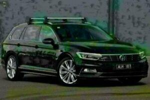 2016 Volkswagen Passat 3C (B8) MY17 206TSI DSG 4MOTION R-Line Black 6 Speed