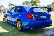 2013 Subaru Impreza G3 MY14 WRX AWD RS40 Blue 5 Speed Manual Sedan Victoria Park Victoria Park Area Preview