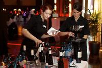 Busboy, Bartender, Serveur: travailler en événementiel