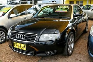 2003 Audi A4 B6 Multitronic Black 1 Speed Constant Variable Cabriolet Colyton Penrith Area Preview