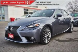 2014 Lexus IS 250 All Wheel Drive MANAGER'S SPECIAL