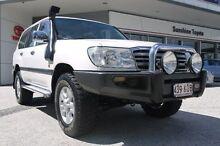 2006 Toyota Landcruiser HDJ100R GXL White 5 Speed Automatic Wagon Currimundi Caloundra Area Preview