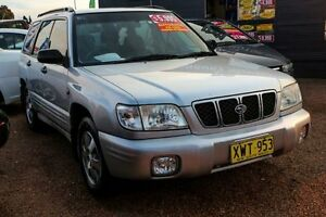 2002 Subaru Forester 79V MY02 Limited AWD Silver 4 Speed Automatic Wagon Minchinbury Blacktown Area Preview