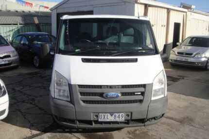 2007 Ford Transit VM Low (SWB) White 5 Speed Manual Van Laverton Wyndham Area Preview