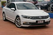 2016 Volkswagen Passat 3C (B8) MY16 140TDI DSG Highline White 6 Speed Sports Automatic Dual Clutch Southport Gold Coast City Preview
