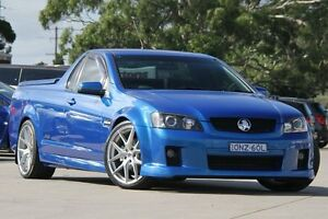 2009 Holden Commodore VE MY09.5 SS-V Blue 6 Speed Automatic Utility Greenacre Bankstown Area Preview