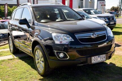 2014 Holden Captiva CG MY14 5 LT Black 6 Speed Manual Wagon