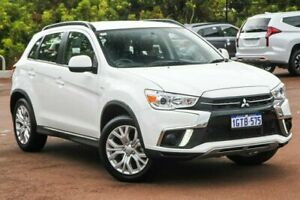 2019 Mitsubishi ASX XC MY19 ES 2WD White 6 Speed Constant Variable Wagon Cannington Canning Area Preview