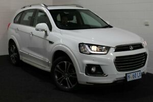 2016 Holden Captiva CG MY17 LTZ AWD Summit White 6 Speed Sports Automatic Wagon Glenorchy Glenorchy Area Preview