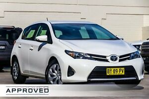 2014 Toyota Corolla ZRE182R Ascent S-CVT Glacier White 7 Speed Constant Variable Hatchback Brookvale Manly Area Preview